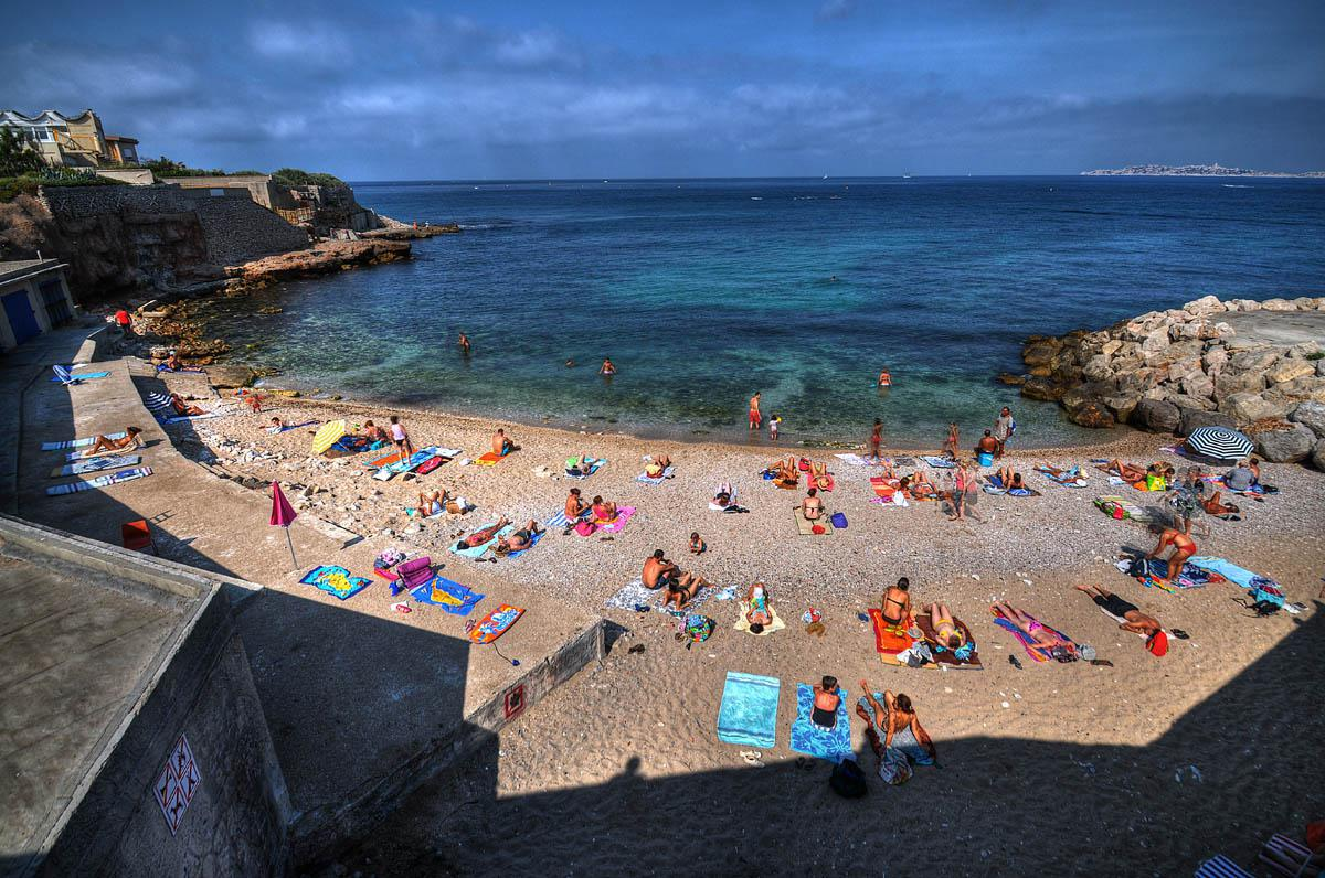 Les plus belles plages de marseille informations calanques for Piscine marseille pointe rouge