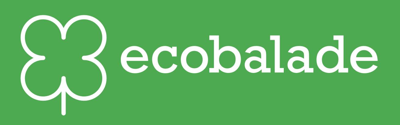 logo horizontal blanc fond vert
