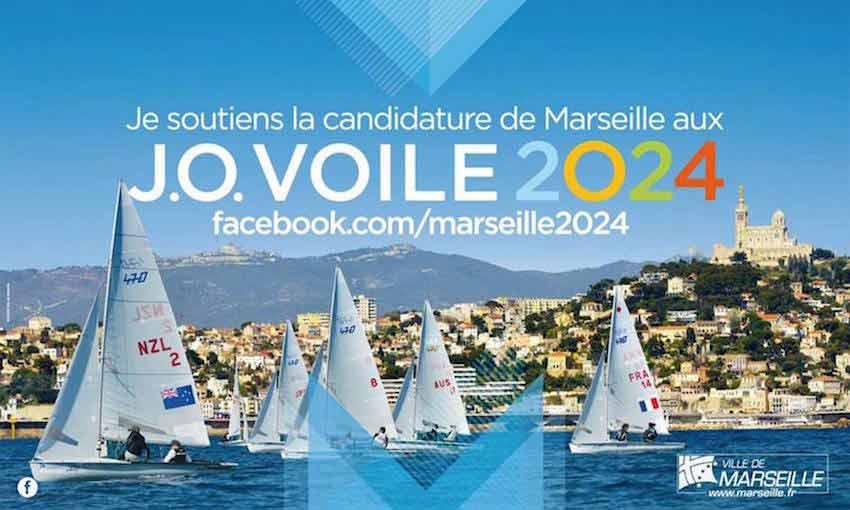 accueil des JO voile à Marseille et dans les calanques